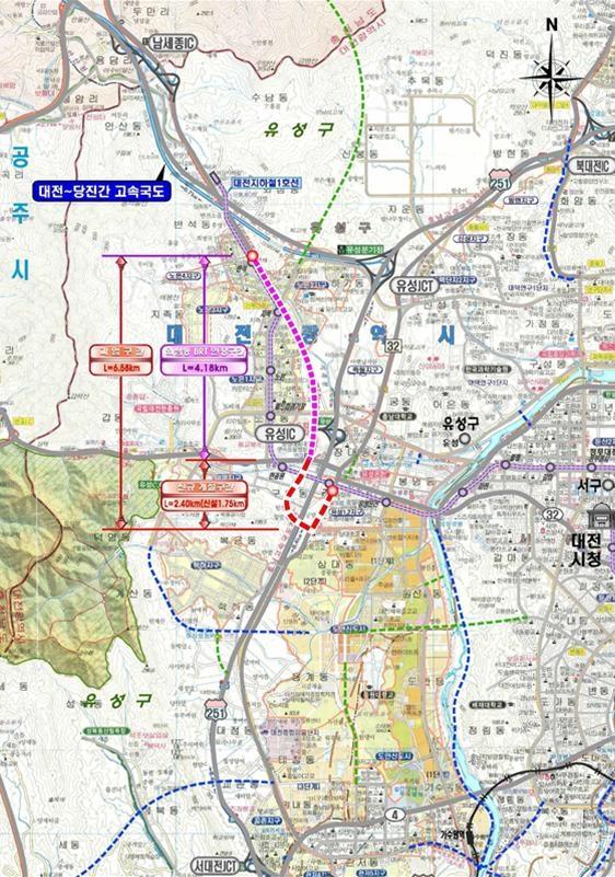 외삼-유성복합터미널 BRT 노선도.jpg