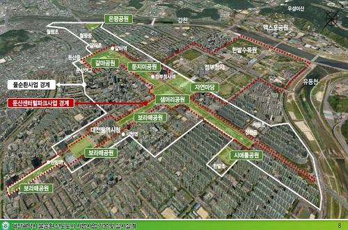 도심 속 힐링공간 둔산센트럴파크 첫걸음 내디뎌_공간구상도.jpg
