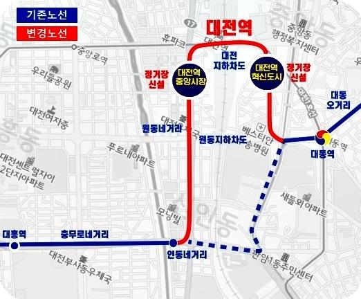 도시철도 트램, 대전의 관문 대전역 경유한다!-조감도 (1).jpg